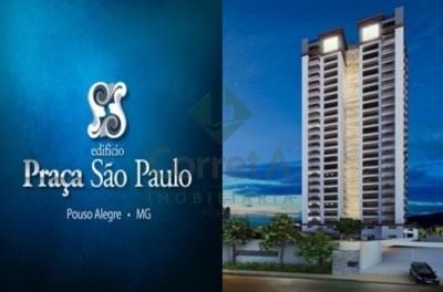Apartamento Alto Padrão com 3 suítes e Lazer completo - no centro de Pouso Alegre